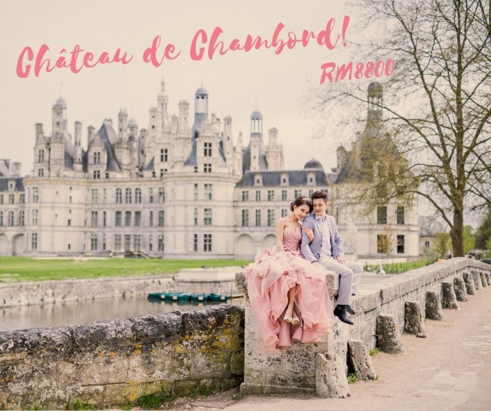 chateau de chambord prewedding