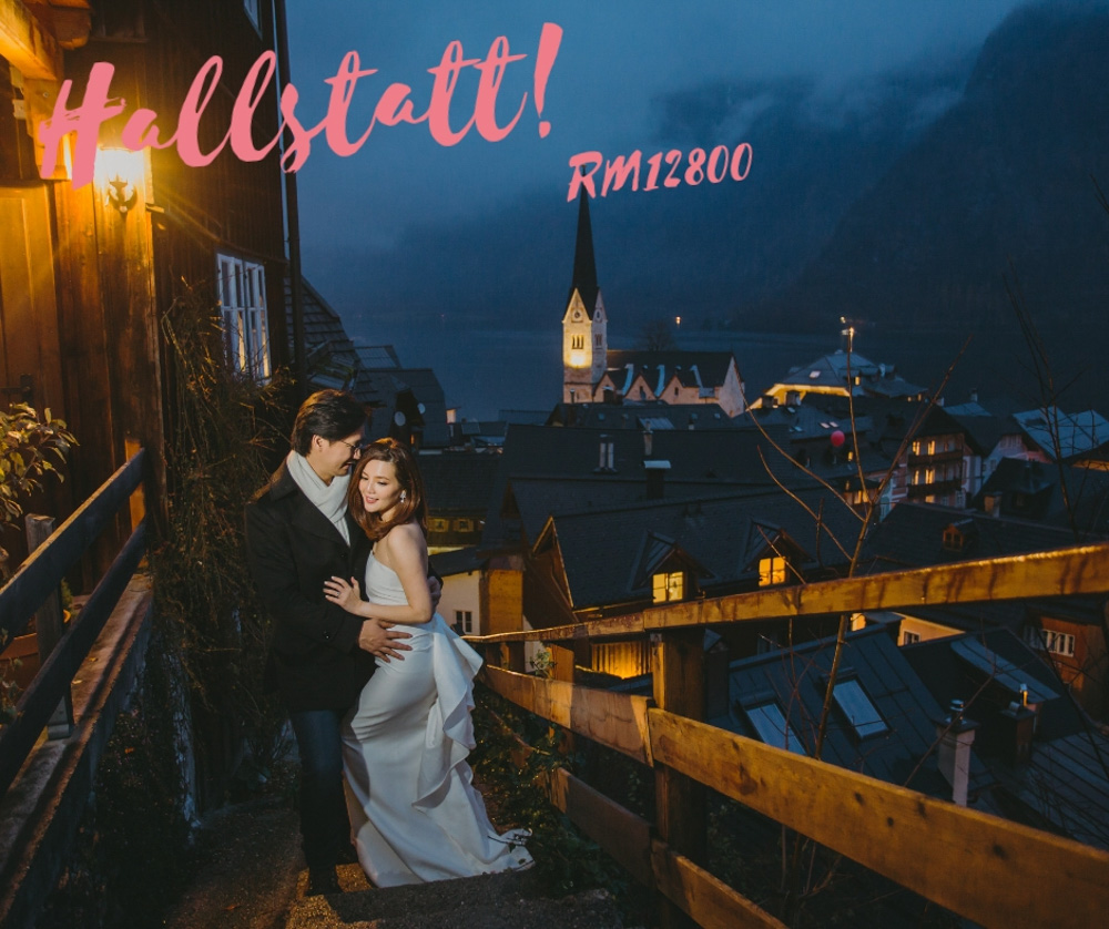hallstatt europe prewedding